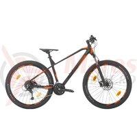 Bicicleta Sprint Apolon Pro 27.5 negru mat/portocaliu 2020