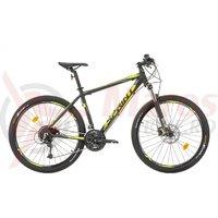 Bicicleta Sprint Apolon Pro 27.5 negru mat/verde lime 2017