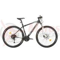 Bicicleta Sprint Apolon Pro 29 negru mat/alb 2017