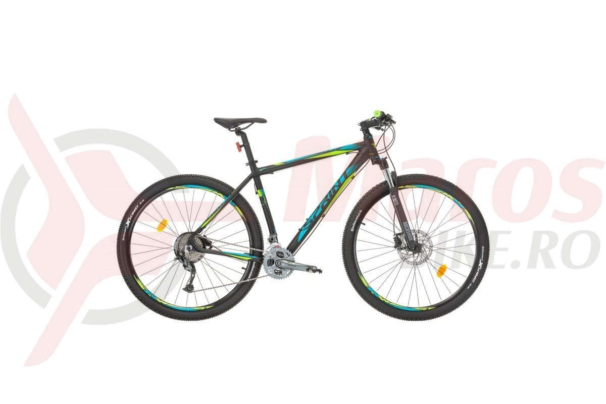 Bicicleta Sprint Apolon Pro LTD 29 negru mat/lime 2017