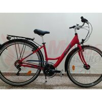 Bicicleta Sprint Capucine 28 Al 18V, rosu lucios