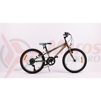Bicicleta Sprint Casper 20 6SP 2021, Dark Blue/Orange