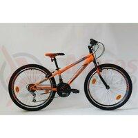 Bicicleta Sprint Casper 24 TBD Hardtail 2021, portocaliu mat