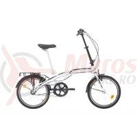 Bicicleta Sprint Comfort 20 Pliabila Nexus3 Alb Lucios 2019