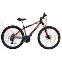 Bicicleta Sprint Dynamic MDB 27.5, negru mat/portocaliu
