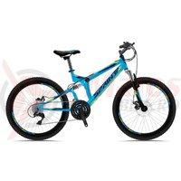Bicicleta Sprint Element DB 24 cyan 2018