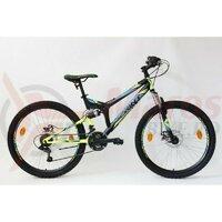 Bicicleta Sprint Element DB 26 2021 Negru/Verde Neon Mat