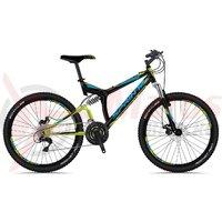 Bicicleta Sprint Element DB 26 negru/albastru/verde 2018