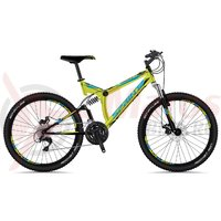 Bicicleta Sprint Element DB 26 negru/verde 2018