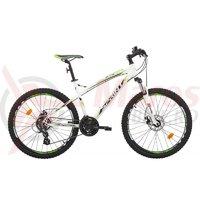 Bicicleta Sprint GTS 26 alb/verde 2017