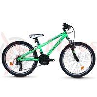 Bicicleta Sprint Hat Trick 24 verde neon lucios 2019