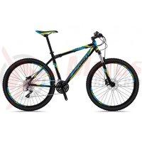Bicicleta Sprint Maverick 27,5 negru/cyan/verde 2018