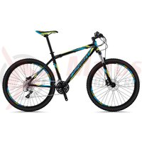 Bicicleta Sprint Maverick 29 HDB negru/albastru 2018