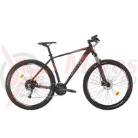 Bicicleta Sprint Maverick Pro 29 NegruMat/Gri/Rosu 2020