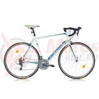 Bicicleta Sprint Monza Race alb/albastru/verde 2016