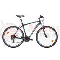 Bicicleta Sprint Sintero Man negru mat/gri/albastru 2015