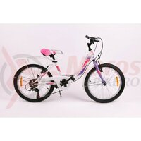 Bicicleta Sprint Starlet 20 alb lucios 2020