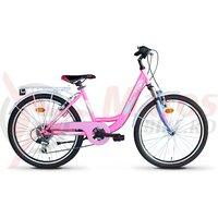 Bicicleta Sprint Starlet 24 Roz Neon Lucios 2020