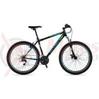 Bicicleta Sprint Tornado 29 Verde Matt Cyan/Albastru