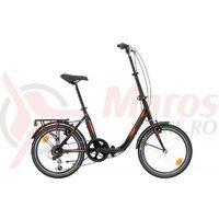 Bicicleta Sprint Tour Lady 20 negru/orange 2017