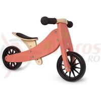 Bicicleta/Tricicleta copii 2 in 1 Kinderfeets Tiny Tot Coral