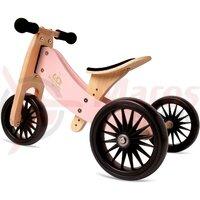 Bicicleta/Tricicleta copii 2 in 1 Kinderfeets Tiny Tot Plus Rose