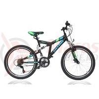 Bicicleta Ultra Apex 24' neagra