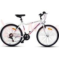 Bicicleta Ultra Gravita 26 inch alb