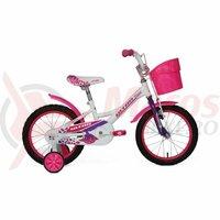 Bicicleta ULTRA Larisa 16 V-Brake Alb