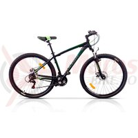 Bicicleta Ultra Nitro 29'' hidraulic - negru/verde