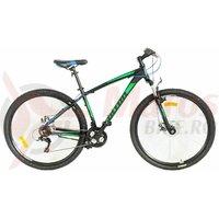 Bicicleta Ultra Nitro 29'' - Negru/Albastru/Verde 2021