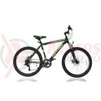 Bicicleta Ultra Razor 26' negru/verde