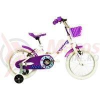 Bicicleta Venture 1618 alba 2018