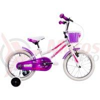 Bicicleta Venture 1618 alba 2019