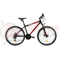 Bicicleta Venture 2621 negru/rosu 2019