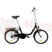 Bicicleta Venture pliabila 2090 neagra 2019