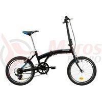 Bicicleta Venture pliabila 2091 neagra 2019