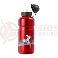 Bidon aluminiu Mighty 750 ml rosu
