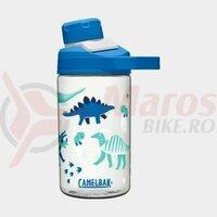 Bidon Camelbak Chute Mag Kids 400 ml, hatching dinos