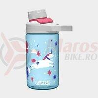Bidon Camelbak Chute Mag Kids 400 ml, space unicors