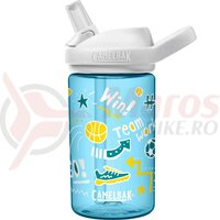 Bidon Camelbak Eddy + Kids 400 ml doodle sport