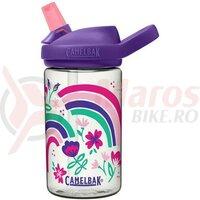 Bidon Camelbak Eddy+ Kids 400 ml, rainbow floral