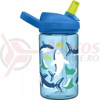 Bidon Camelbak Eddy+ Kids 400 ml, Sarks and rays