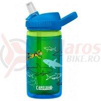 Bidon Camelbak Eddy+ Kids insulated 400ml, scuba sharks