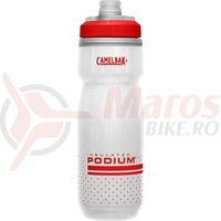 Bidon Camelbak Podium Chill 620 ml fiery red/white