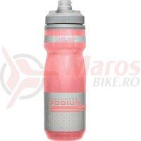 Bidon Camelbak Podium Chill 620ml, Reflective Pink