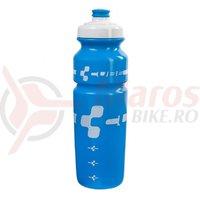 Bidon Cube 750ml albastru logo alb