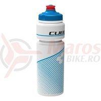 Bidon Cube Icon Teamline alb/albastru 750 ml