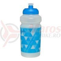 Bidon Cube RFR 0.5l translucent/albastru