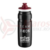 Bidon Elite Fly Team Ineos 0.75l negru